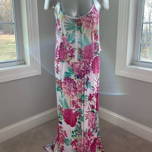 Like new - Candies floral maxi dress